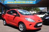 2011 FORD KA 1.2 EDGE 3dr 69 BHP £3795.00