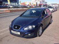 USED 2010 10 SEAT LEON 1.6 CR TDI SE 5d 103 BHP Diesel, 62000 miles, alloys, great value.