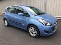 2011 HYUNDAI IX20 ACTIVE 1.4 PETROL BLUE DRIVE MANUAL  £5995.00