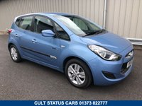 2011 HYUNDAI IX20 ACTIVE 1.4 PETROL BLUE DRIVE MANUAL  £5495.00
