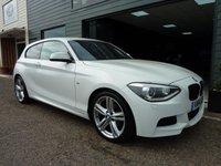 2014 BMW 1 SERIES 1.6 116I M SPORT 3d 135 BHP