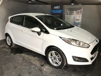 USED 2013 13 FORD FIESTA 1.2 ZETEC 5d 81 BHP £30 a year road tax  :  Bluetooth : Heated front screen  :  Cloth upholstery  :  Isofix fittings  :  Full service and MOT when sold