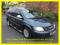 USED 2003 03 CHRYSLER VOYAGER 2.5 CRD SE 5d 141 BHP +111K+WHEELCHAIR ACCESS+A/C+