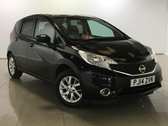 View our 2014 14 NISSAN NOTE 1.2 ACENTA 5d 80 BHP