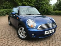 2008 MINI HATCH COOPER 1.6 COOPER 3d AUTO 118 BHP