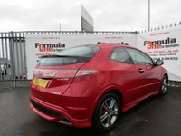 USED 2011 11 HONDA CIVIC 1.4 i-VTEC Type S 3dr FULL MOT+LOW LOW MILES+VALUE