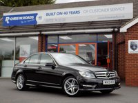 USED 2013 13 MERCEDES-BENZ C CLASS 2.1 C250 CDI BLUEEFFICIENCY AMG SPORT 4dr (202)  ** Full Mercedes Service History **