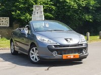 USED 2007 57 PEUGEOT 207 CC 1.6 SPORT COUPE CABRIOLET 2dr  ULTRA LOW MILES FPSH 1 OWNER