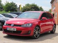 2015 VOLKSWAGEN GOLF 2.0 GTD 5d 181 BHP £14750.00
