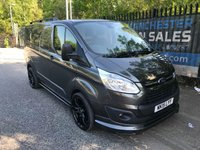 "2015 FORD TRANSIT CUSTOM 2.2 270 TREND LR 5d 125 BHP STYLING KIT & 20"" ALLOYS £11995.00"