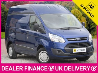 2014 FORD TRANSIT CUSTOM 2.2 TDCI TREND HIGH ROOF L1H2 PANEL VAN £12650.00