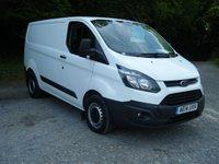 2014 FORD TRANSIT CUSTOM 2.2 270 LR P/V 1d 99 BHP £7995.00