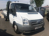 2008 FORD TRANSIT 350 MWB One Stop Alloy Dropside DRW  £5495.00