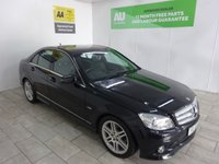 USED 2010 10 MERCEDES-BENZ C CLASS 2.1 C200 CDI BLUEEFFICIENCY SPORT 4d AUTO 136 BHP