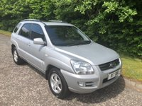 USED 2005 55 KIA SPORTAGE 2.0 XS CRDI 5d 111 BHP 6 MONTHS PARTS+ LABOUR WARRANTY+AA COVER
