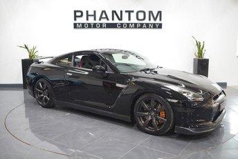 2011 NISSAN GT-R 3.8 BLACK EDITION 2d AUTO 479 BHP £43790.00