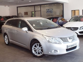 2010 TOYOTA AVENSIS 1.8 VALVEMATIC TR 5d 145 BHP £5990.00