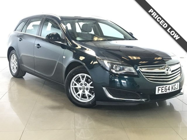 View our 2014 64 VAUXHALL INSIGNIA 2.0 DESIGN CDTI ECOFLEX S/S 5d 118 BHP