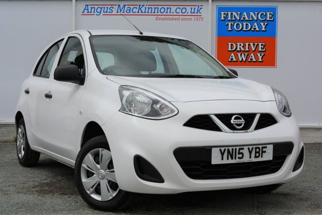 2015 15 NISSAN MICRA 1.2 VISIA 5d Hatchback with Low Running Costs