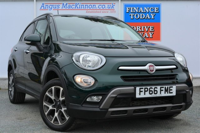 2017 66 FIAT 500X 1.4 MULTIAIR CROSS 5d SUV Stunning Rare Colour