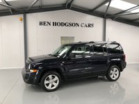 2011 JEEP PATRIOT 2.1 CRD LIMITED 5d 161 BHP £7000.00