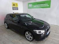 USED 2014 64 BMW 1 SERIES 2.0 120D M SPORT 5d AUTO 181 BHP