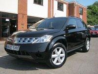 USED 2007 07 NISSAN MURANO 3.5 V6 5d AUTO 231 BHP