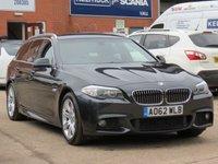 2012 BMW 5 SERIES 2.0 520D M SPORT TOURING 5d 181 BHP £9250.00