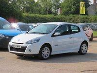 2009 RENAULT CLIO 1.1 DYNAMIQUE 16V 3d 74 BHP £3495.00