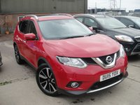 USED 2015 15 NISSAN X-TRAIL 1.6 DCI TEKNA XTRONIC 5d AUTO 130 BHP ANY PART EXCHANGE WELCOME, COUNTRY WIDE DELIVERY ARRANGED, HUGE SPEC