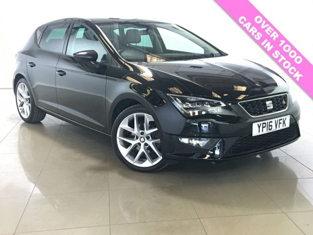 View our 2016 16 SEAT LEON 2.0 TDI FR TECHNOLOGY NAV 5d 150 BHP