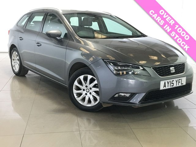 View our 2015 15 SEAT LEON 1.6 TDI SE TECHNOLOGY NAV DSG 5d AUTO 105 BHP