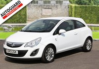 USED 2013 13 VAUXHALL CORSA 1.4 SE 3d 98 BHP +++ FREE 6 months Autoguard Warranty included in screen price +++