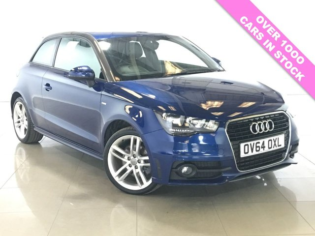 View our 2014 64 AUDI A1 1.6 TDI S LINE 3d 105 BHP