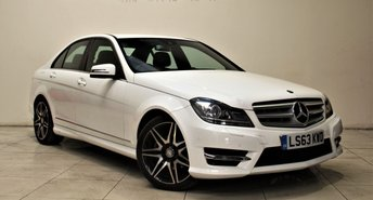 2013 MERCEDES-BENZ C CLASS 2.1 C250 CDI BLUEEFFICIENCY AMG SPORT PLUS 4d AUTO 202 BHP £14999.00