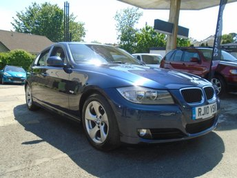 2010 BMW 3 SERIES 2.0 320D EFFICIENTDYNAMICS 4d 161 BHP £3495.00