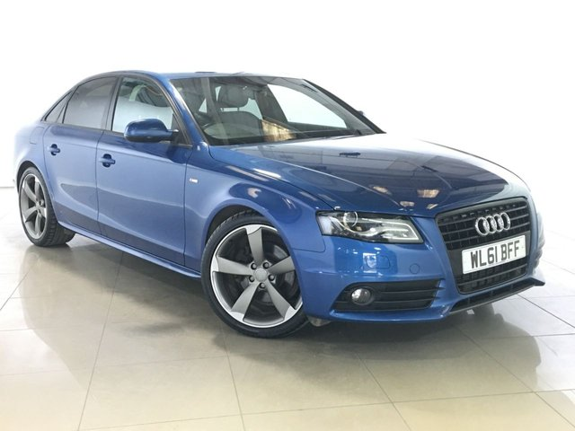 View our 2011 61 AUDI A4 2.0 TDI S LINE BLACK EDITION 4d 134 BHP