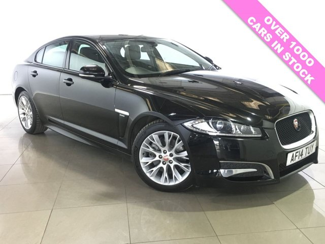 View our 2014 14 JAGUAR XF 2.2 D R-SPORT 4d AUTO 200 BHP