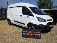 2014 FORD TRANSIT CUSTOM 2.2 290 HIGH ROOF P/V 5d 125 BHP L2H2 LWB £7990.00