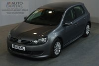 USED 2012 62 VOLKSWAGEN GOLF 1.6 S TDI BLUEMOTION 103 BHP AIR CON ONE OWNER, SERVICE HISTORY