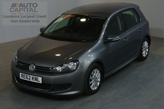 2012 62 VOLKSWAGEN GOLF 1.6 S TDI BLUEMOTION 103 BHP AIR CON ONE OWNER, SERVICE HISTORY