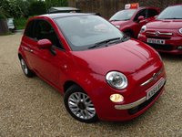 USED 2014 64 FIAT 500 1.2 LOUNGE DUALOGIC 3d AUTOMATIC 69 BHP Full Service History, Just Serviced by ourselves, MOT until May 2019, Automatic, One Previous Owner, Great on fuel economy! Only £20 Road Tax! Low Insurance Group!