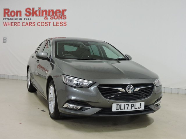 View our 2017 17 VAUXHALL INSIGNIA 1.6 GRAND SPORT SRI NAV ECOTEC 5d 134 BHP with Front and Rear Parking Sensors