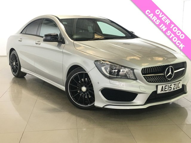 View our 2015 15 MERCEDES-BENZ CLA 1.6 CLA180 AMG SPORT NAV 4d 122 BHP