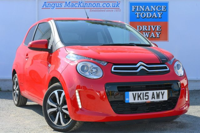 2015 15 CITROEN C1 1.2 PURETECH FLAIR 3d Hatchback with Zero Road Tax and High 65mpg