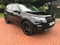 2017 LAND ROVER DISCOVERY SPORT 2.0 TD4 HSE BLACK 5d AUTO 180 BHP £26990.00
