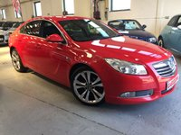 USED 2012 62 VAUXHALL INSIGNIA 2.0 SRI VX-LINE RED CDTI 5d 157 BHP