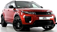 USED 2015 65 LAND ROVER RANGE ROVER EVOQUE 2.0 TD4 HSE Dynamic AWD (s/s) 5dr Auto Black Pack, Reverse Cam, Nav +