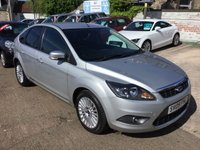 USED 2009 09 FORD FOCUS 1.6 TITANIUM TDCI 5d 108 BHP LOW MILEAGE DIESEL IN OUTSTANDING CONDITION