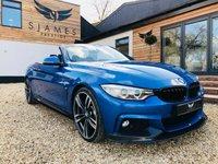 2014 BMW 4 SERIES 3.0 435D XDRIVE M SPORT 2d AUTO 309 BHP £24490.00